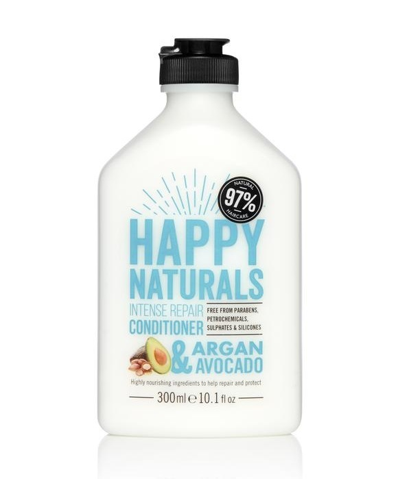 Happy Naturals: Intense Repair Conditioner - Argan & Avocado (300ml)