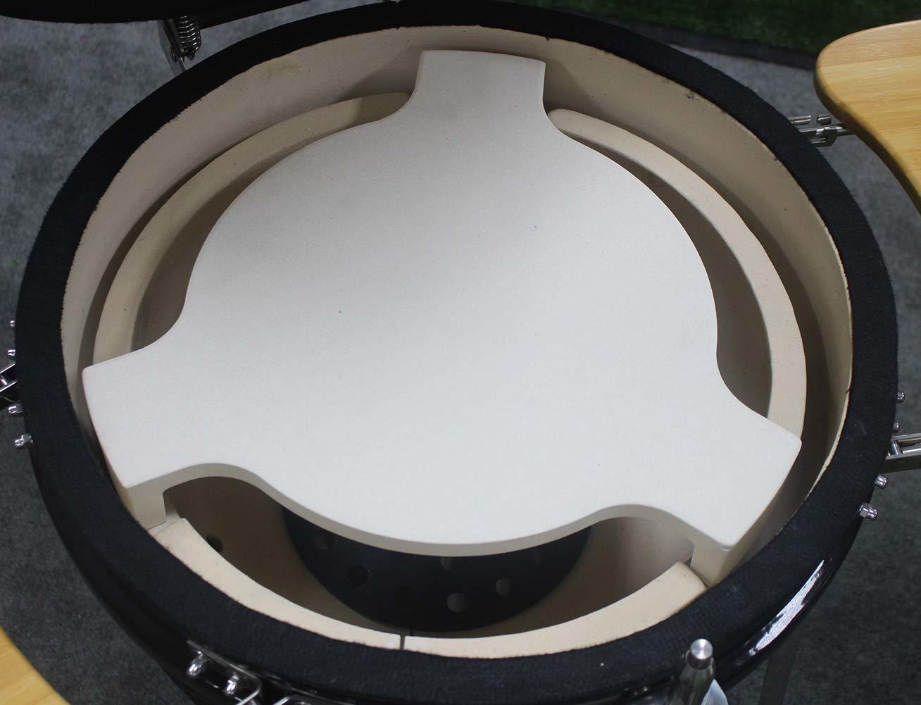 "Heat Deflector for Gorilla Kamado BBQ Grill 18"" image"
