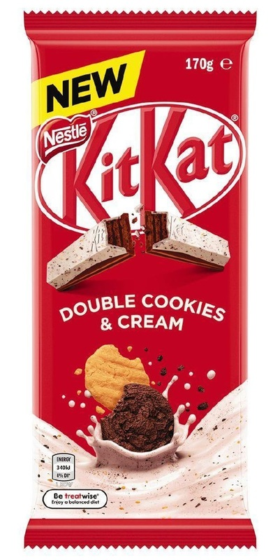 KitKat: Double Cookies & Cream Block - (12 x 170g)