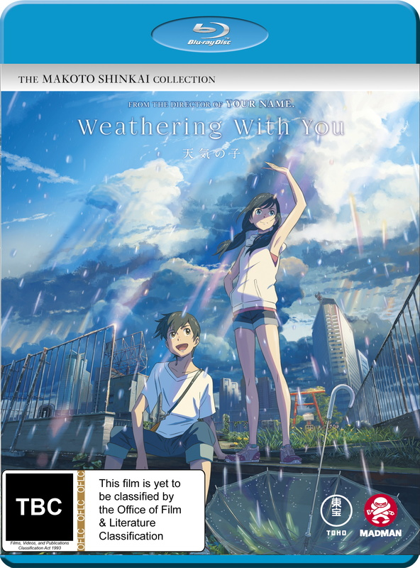 Weathering With You on Blu-ray