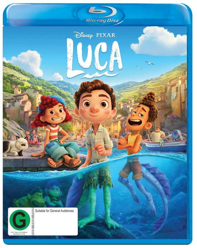 Luca on Blu-ray