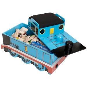 Thomas Wooden Railway Roundhouse Deluxe Set In Thomas Storage Box Seat