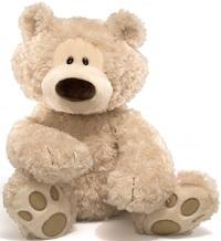 Gund: Philbin Bear - Beige (Large)