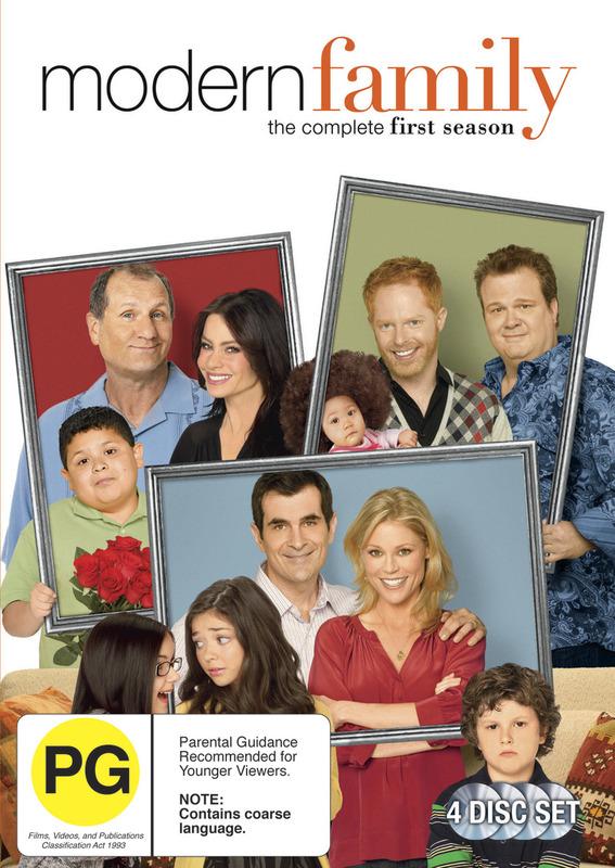 Modern Family: Series 1 (4 Disc Set) on DVD
