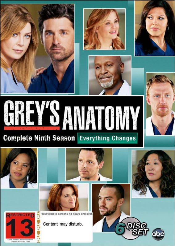 Greys Anatomy Season 9 Dvd In Stock Buy Now At Mighty Ape Nz