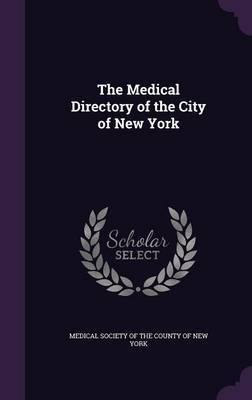 The Medical Directory of the City of New York image