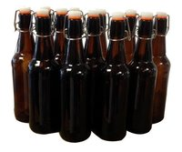 Mangrove Jack's: Flip-Top Bottle - Amber (12 x 500ml)