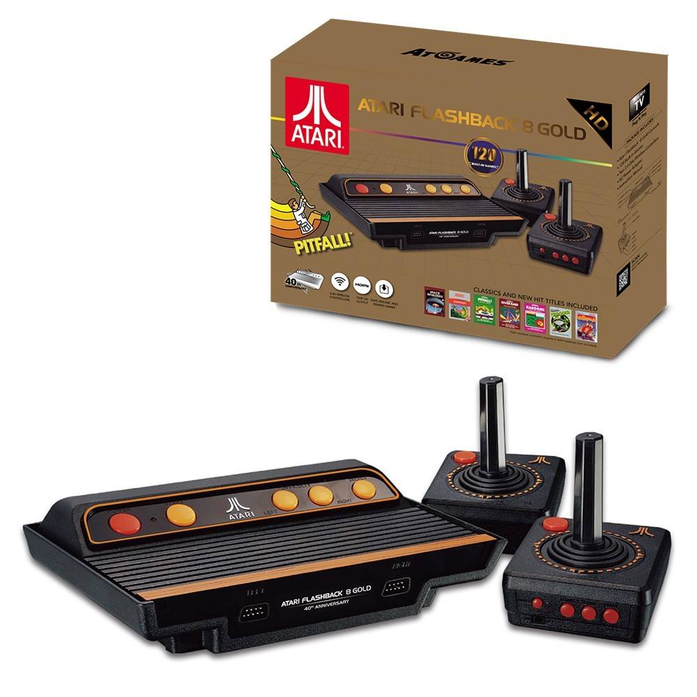 Atari Flashback 8 Gold HD Game Console for  image