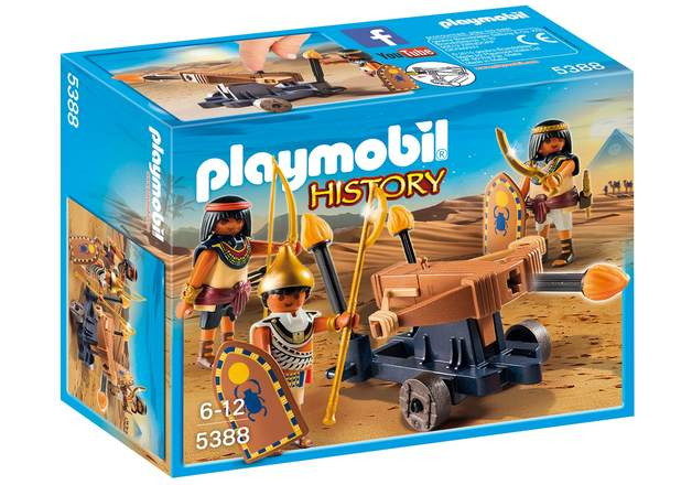 Playmobil: History - Egyptian Troop with Ballista