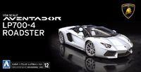 Aoshima: 1/24 Lamborghini Aventador LP700-4 Roadster Model Kit