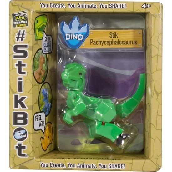 Stikbot: Dino Single - Pachycephalosaurus (Green)
