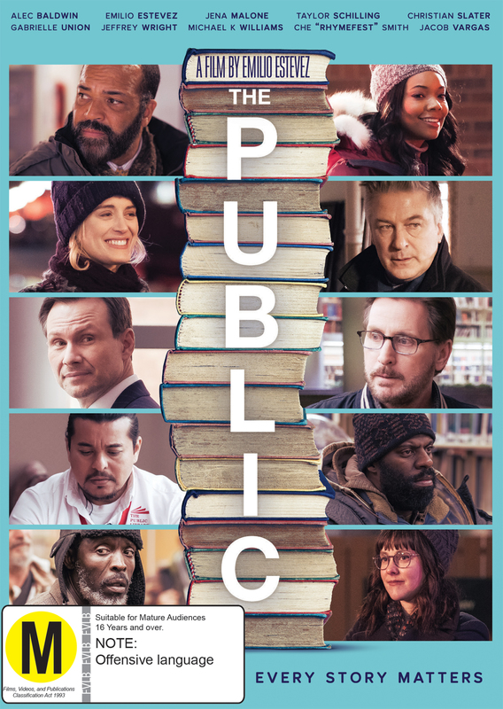 The Public on DVD