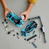 LEGO Speed Champions: Formula E Panasonic Jaguar Racing GEN2 car & Jaguar I-PACE eTROPHY - (76898) image