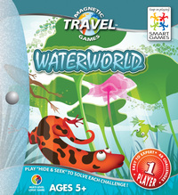 Magnetic Travel Waterworld Game