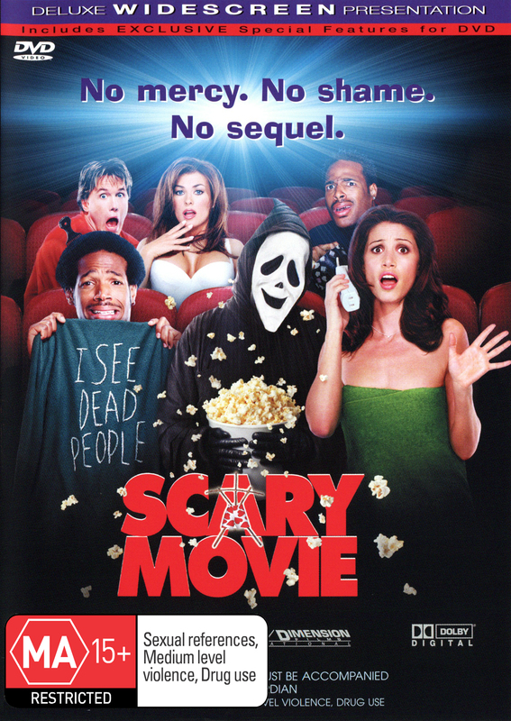 Scary Movie on DVD