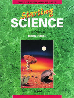 Starting Science: Student Book 3 by Tony Partridge image