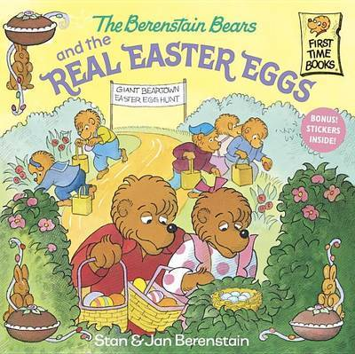 The Berenstain Bears and the Real Easter Eggs by Stan Berenstain image