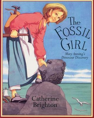 The Fossil Girl by Catherine Brighton image