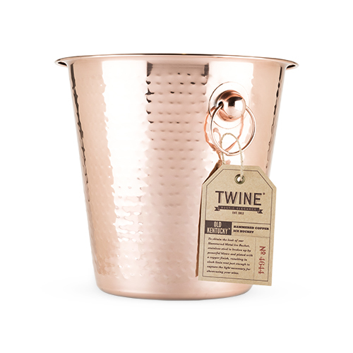 Twine: Old Kentucky Home Hammered Ice Bucket - (Copper) image