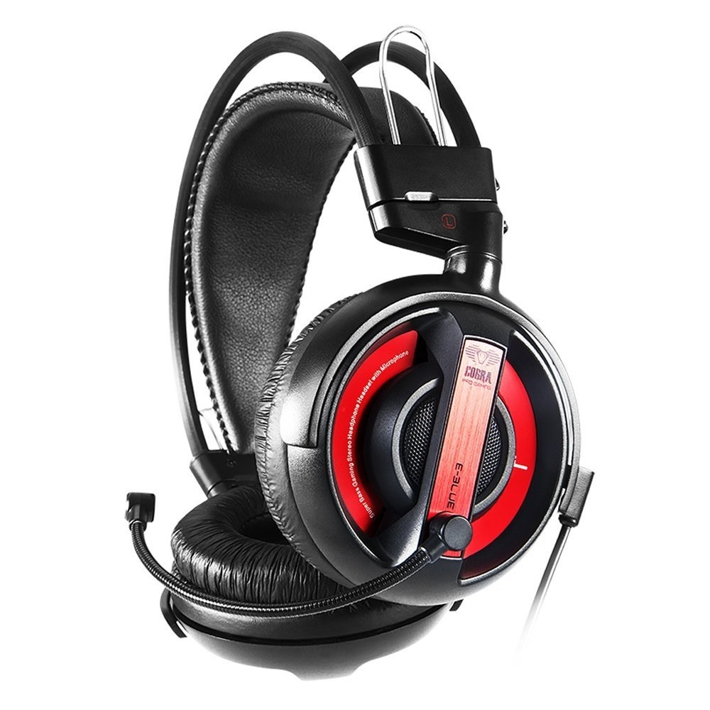 E-Blue Cobra Gaming Headset (Red) for PC image
