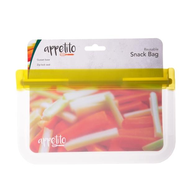 Appetito: Food Storage Bag Snack (21.5x12.5cm)