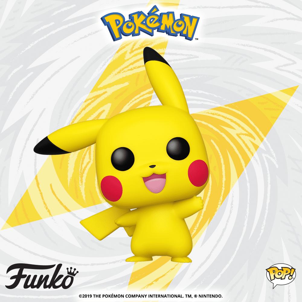 Pokemon - Pikachu (Waving) Pop! Vinyl Figure image