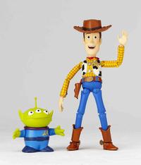 Pixar Woody Revoltech Action Figure