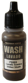 Vallejo 203 Umber Wash 17ml