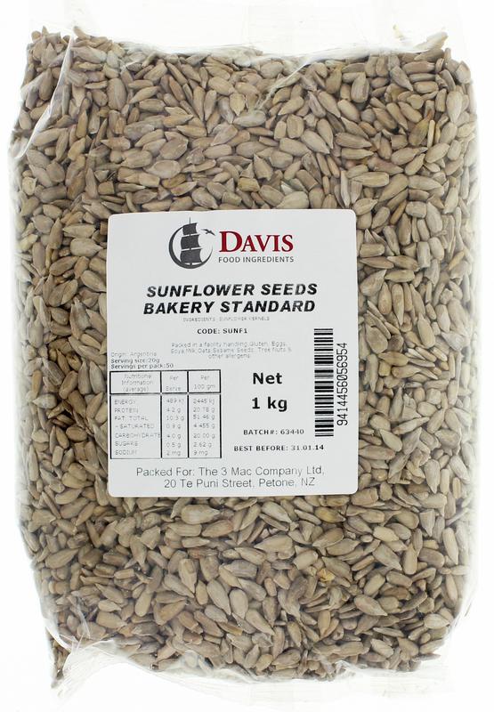 Davis Sunflower Seeds 1kg