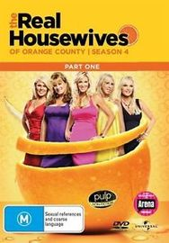 Real Housewives of the Orange County - Season 4 Part 1 on DVD