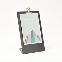 Block Design: Clipboard Frame (Medium Grey)