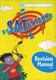 SAT Attack Reading/Writing: Core Revision Manuals (8 Pack) by Jean Kendall image