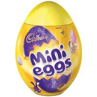 Cadbury Mini Eggs Plastic Egg (231g)