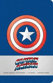 Marvel: Captain America Hardcover Ruled Journal by Insight Editions