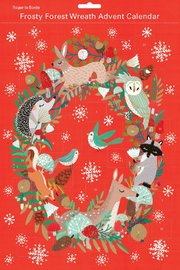 Roger La Borde: Advent Calendar - Frosty Forest Wreath