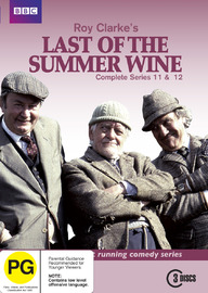Last of the Summer Wine (Roy Clarke's) - Complete Series 11 & 12 (3 Disc Set) on DVD