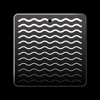 Acrylic Base (Wave)