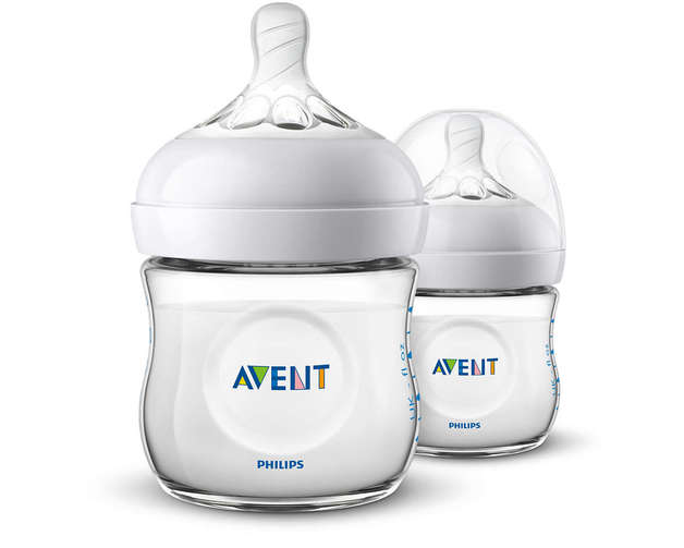Philips Avent Natural Bottle - 125ml (2 Pack)