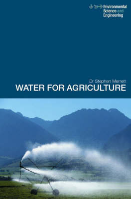 Water for Agriculture by Stephen Merrett image