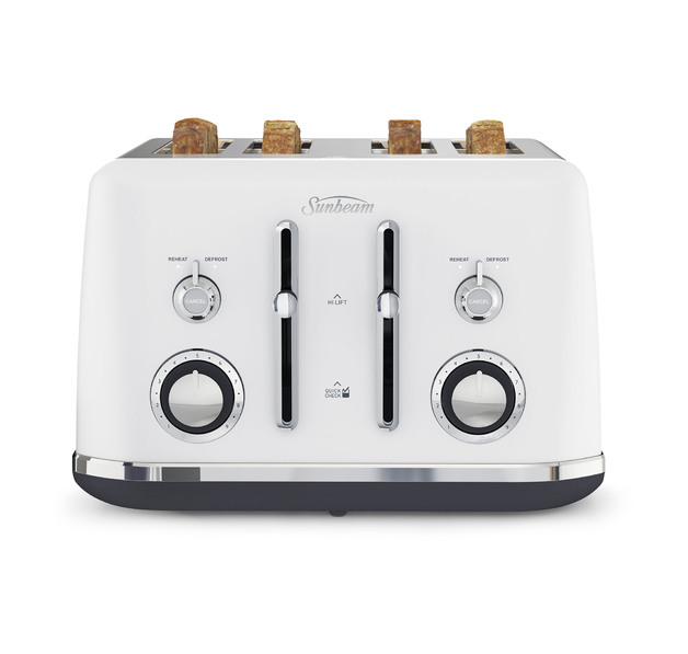 Sunbeam: Alinea Collection 4 Slice Toaster - Ocean Mist