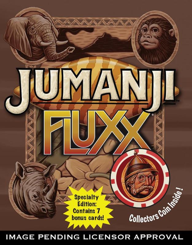 Jumanji Fluxx - Card Game