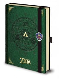 Legend of Zelda Premium A5 Notebook - Triforce