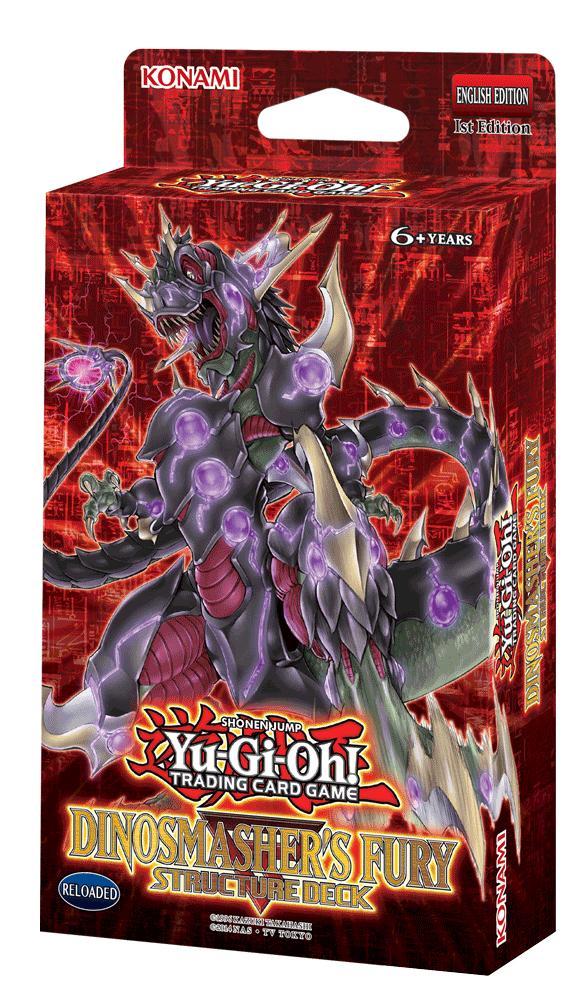 Yu-Gi-Oh! Dinosmasher's Fury Structure Deck image