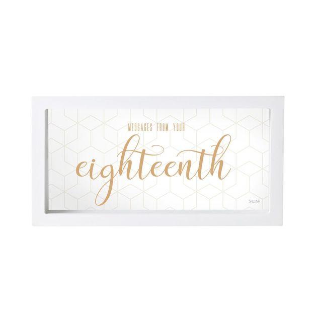 Splosh Eighteenth Birthday Message Box