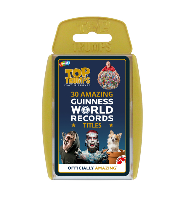 Top Trumps: Guinness World Records