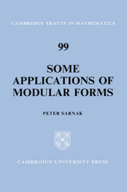 Some Applications of Modular Forms by Peter Sarnak image