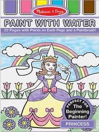 Melissa & Doug: Princess Paint With Water Kids' Art Pad image