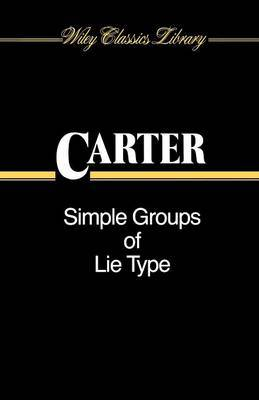 Simple Groups of Lie Type by Roger W. Carter