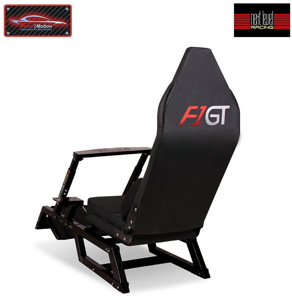 Next Level Racing F1 GT Racing Simulator Cockpit for  image