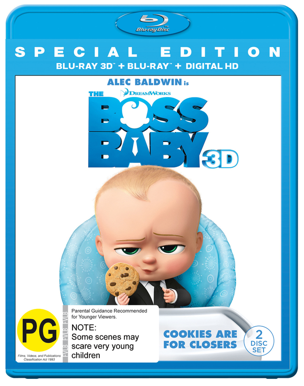 1de66a44d3aee The Boss Baby - 3D Special Edition
